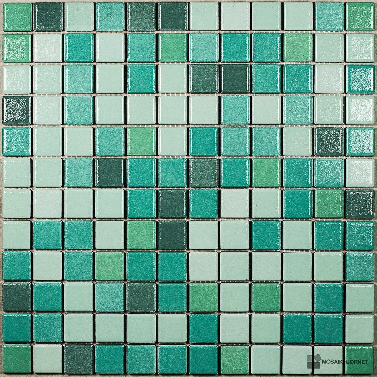 #2D8D7A Mest effektive Smaragd 2 5x2 5 Mosaikhjørnet Fliser Klinker Og Mosaik Til Badeværelse O  Fliser Til Bad Og Køkken 4805 120012004805