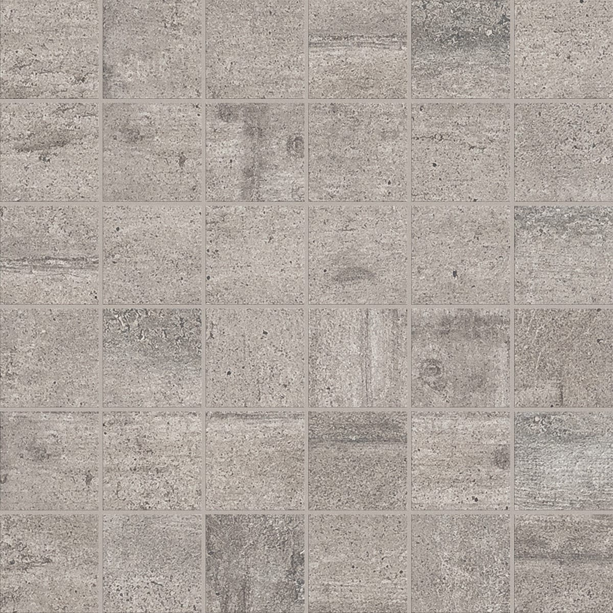 #70665B Mest effektive Beton Grå 5x5 (30x30) Mosaikhjørnet Fliser Klinker Og Mosaik Til Badevær  Fliser Til Bad Og Køkken 4805 120012004805