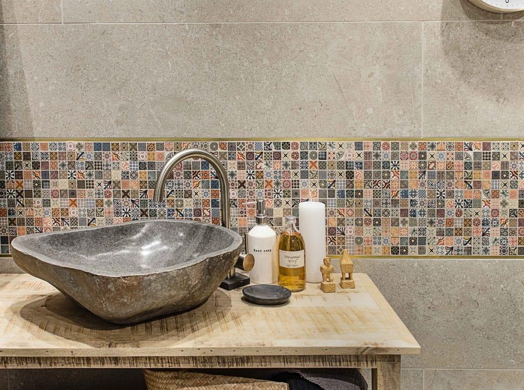 Stenvaske Arkiv - Mosaikhjørnet - Fliser, klinker og mosaik til ...