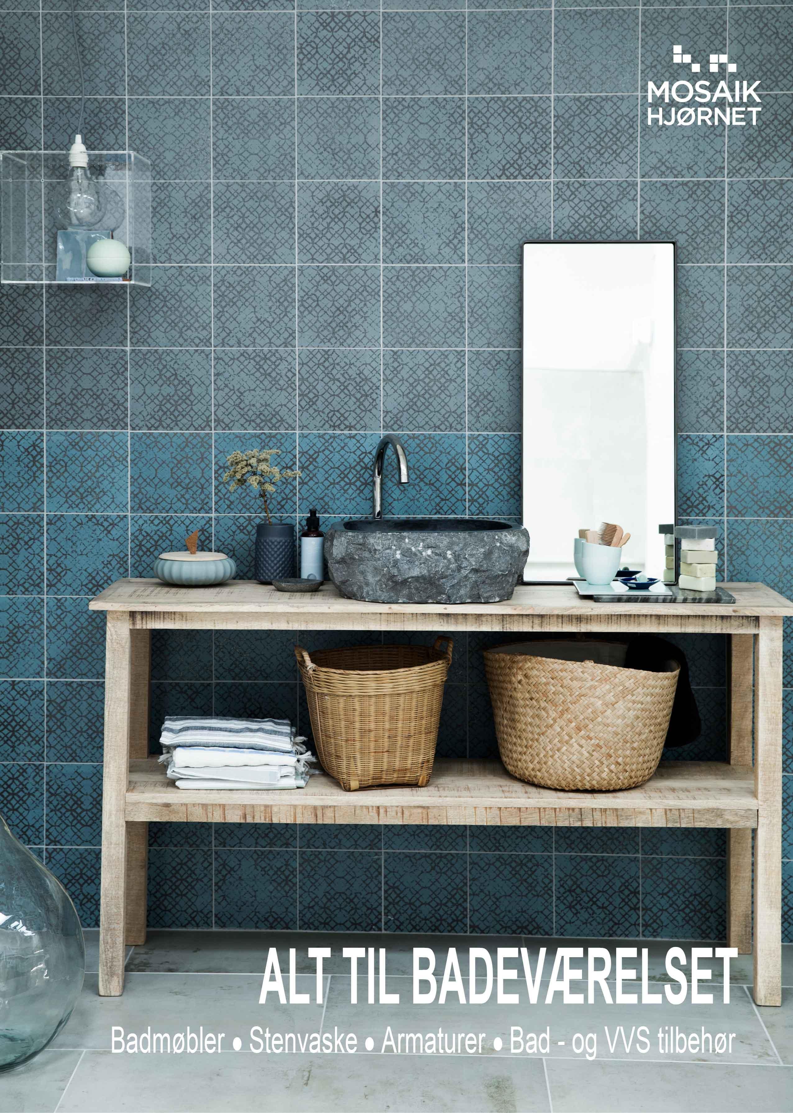 Metrofliser både til badeværelses  og køkkenindretning se her