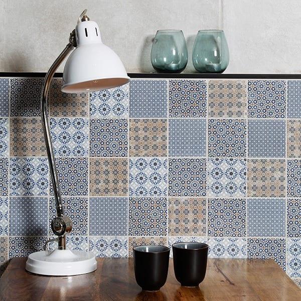 stuen eller i køkkenet med denne glaserede flise og kombinere det med ...