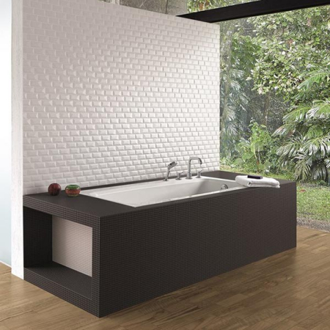 Vægten mosaik, vægfliser, fliser, badfliser