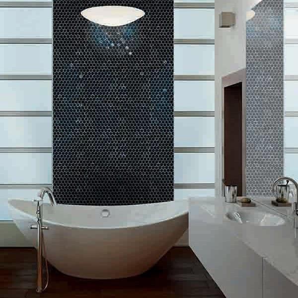 Kube sort mosaik