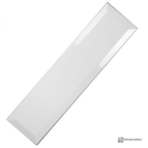 Metroflise Facet Hvid Blank