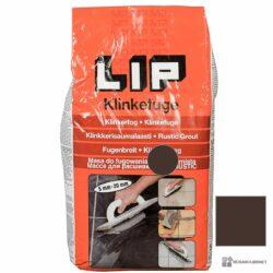 Lip Klinkefuge Mørkebrun