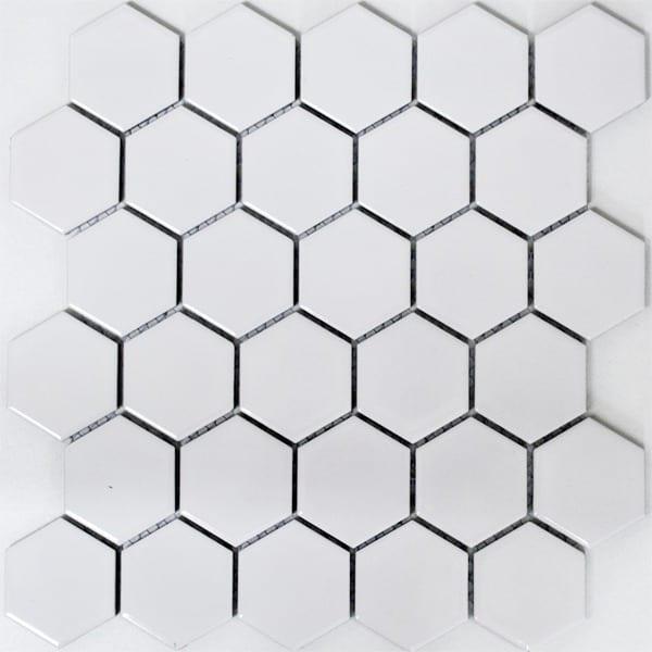 hvide mosaik fliser