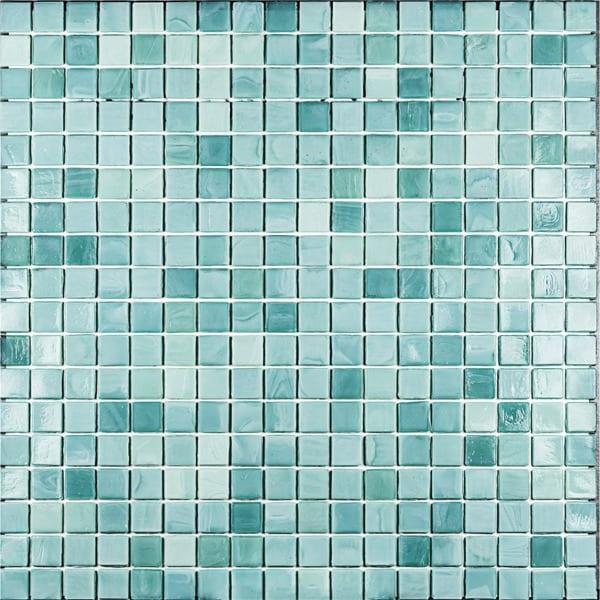 glasmosaik fliser køkken