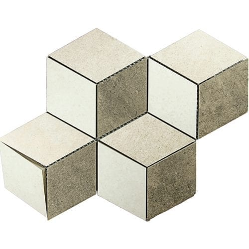 City Mix Rombe Beige Mosaik