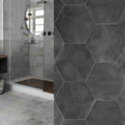Himmelbjerget hexagon hexagonfliser fliser klinker flise klinke gulvflise gulvfliser gulvklinker