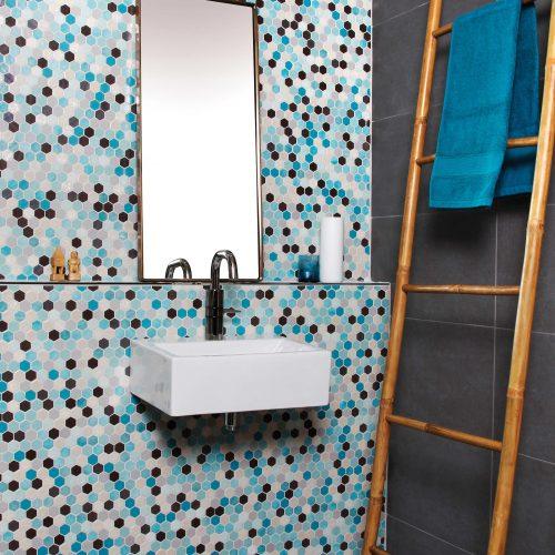 Alle Hexagon Mosaikker