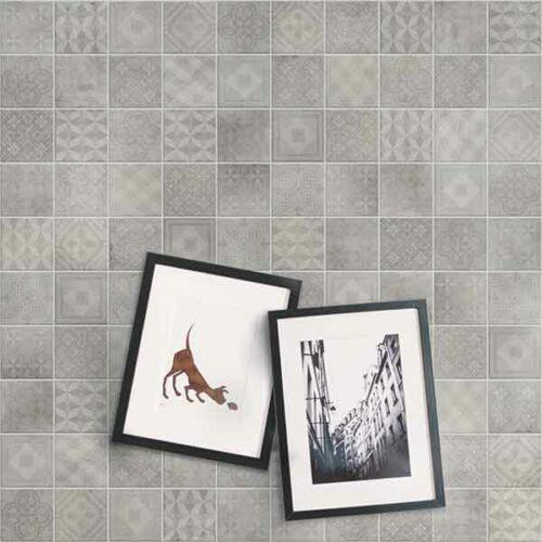 rockva lysegraa dekor fliser gulvfliser vaegfliser gulvklinker koekkenfliser