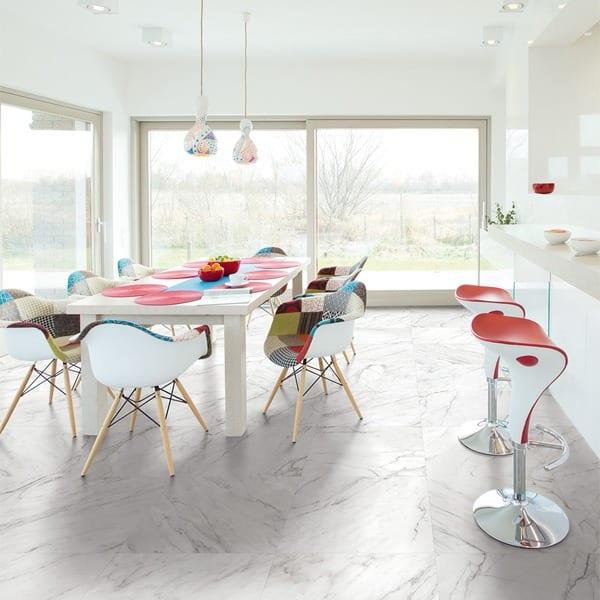 carrara hvid keramisk marmor fliser klinker terratinta