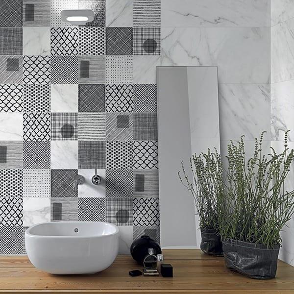 carrara keramisk marmor fliser klinker flise klinker gulvflise gulvfliser gulvklinke gulvklinker