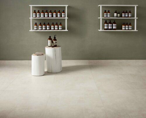 concrete hvid piemme klinke klinker flise fliser gulvfliser gulvflise gulvklinke gulvklinker