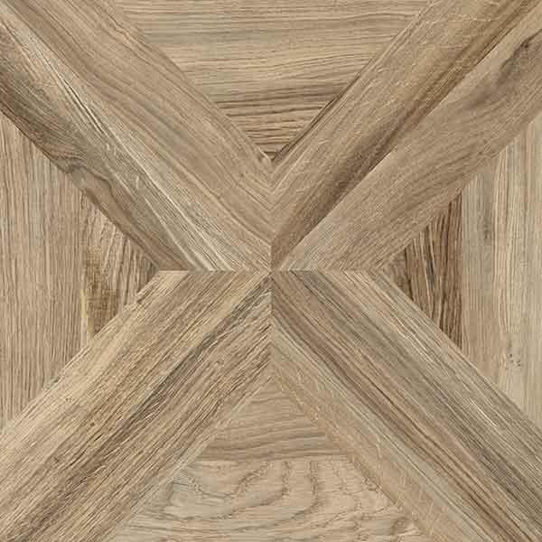 Cool Rosenholm Nøddebrun 60x60 - Mosaikhjørnet - Fliser, klinker og NL11