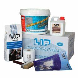 LIP 2K Vådrumssystem