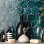 tisvilde blues hexagon flise fliser vaegflise vaegfliser