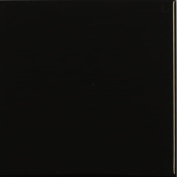 14 8x14 8 Sort Blank Mosaikhj 248 Rnet Fliser Klinker Og